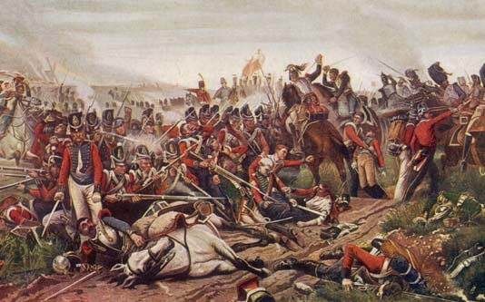 The Battle of Waterloo (Mary Evans Picture Library 10023793)