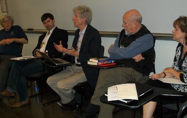 Siegel, Madar, Porter, Walsh & Barlett at LeftForum 2013