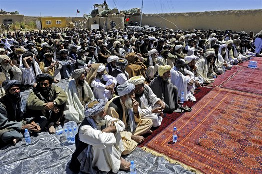 Afghan tribes