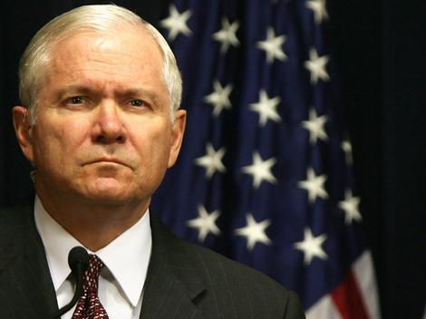 US Defense Secretary Robert Gates.