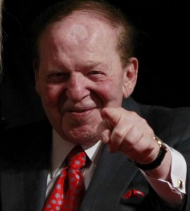 Sheldon Adelson, GOP kingmaker?
