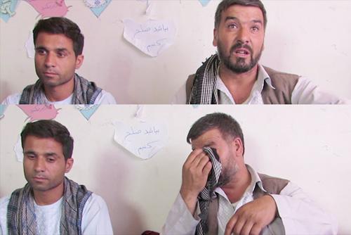 Abdul Fatah cries