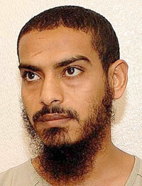 Now look at him, Detainee 434 Mustafa al Shamiri